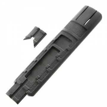King Arms Rail Cover/remote press switch pocket - BK