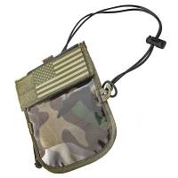 King Arms ID-Badge Neck Wallet with IFF Flag