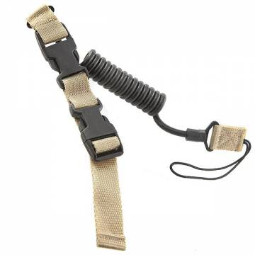 King Arms Tactical Pistol Lanyard - TAN