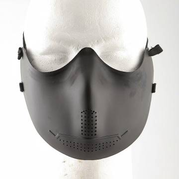 Half Face Mouth Protector Mask - Black