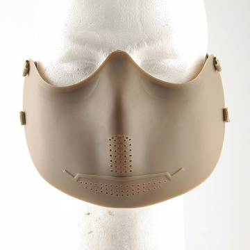 Half Face Mouth Protector Mask - TAN