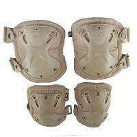 Emerson Advanced Knee / Elbow Pad Set - TAN