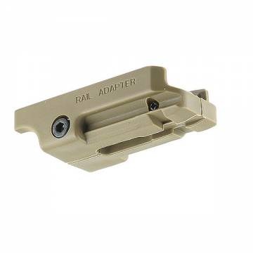 Element USP .45 Pistol Rail Mount - TAN