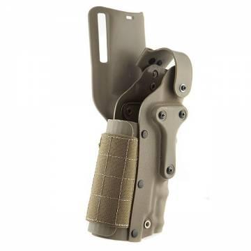 SFL 3280 Ambidextrous Pistol Belt Holster - DE