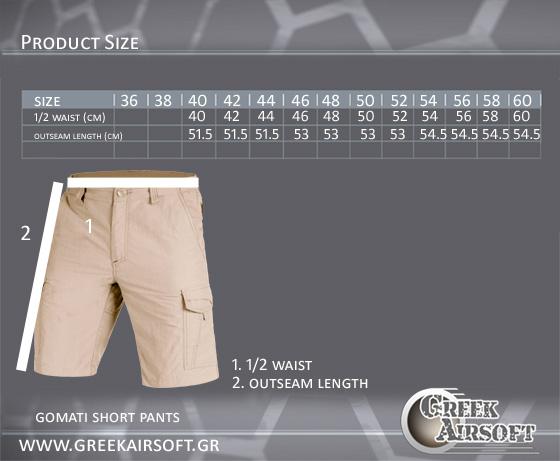 Gomati Shorts