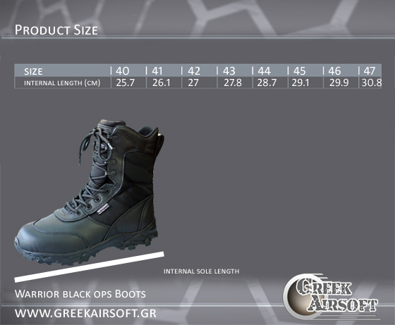 Black Ops Boots