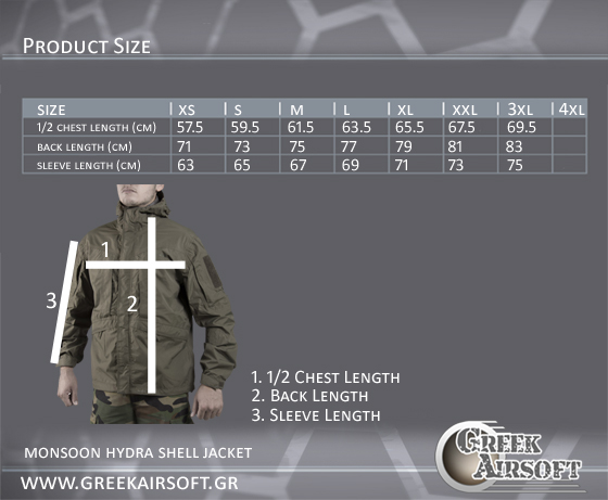 Monsoon Hydra Shell Jacket
